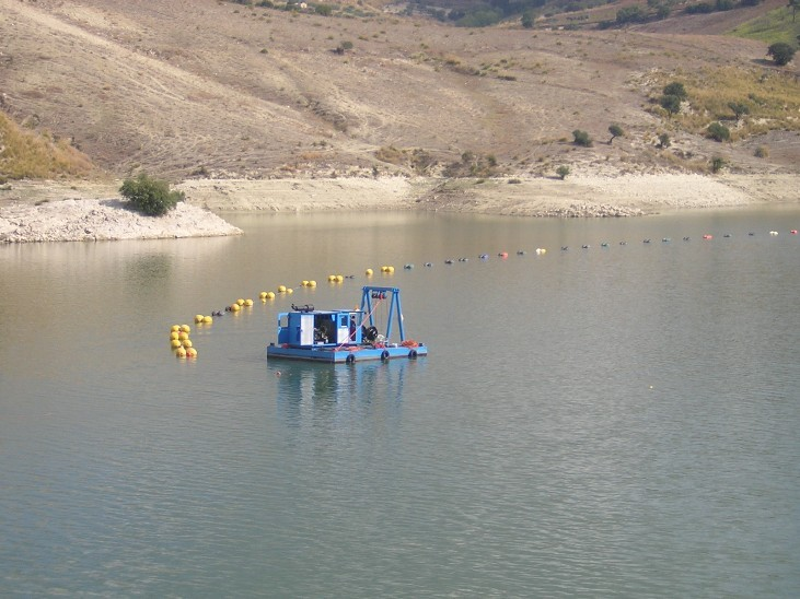 Diga Dirillo - High depth dredging