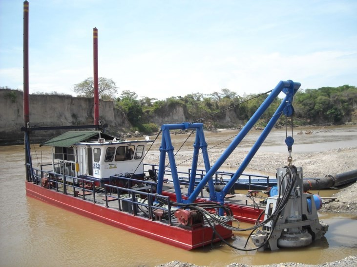 Sand and Gravel Dredge